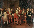 Louis XV enfant visite le Tsar Pierre Ier à l'hôtel de Lesdiguières, le 10 mai 1717 - Louise Hersent.jpg