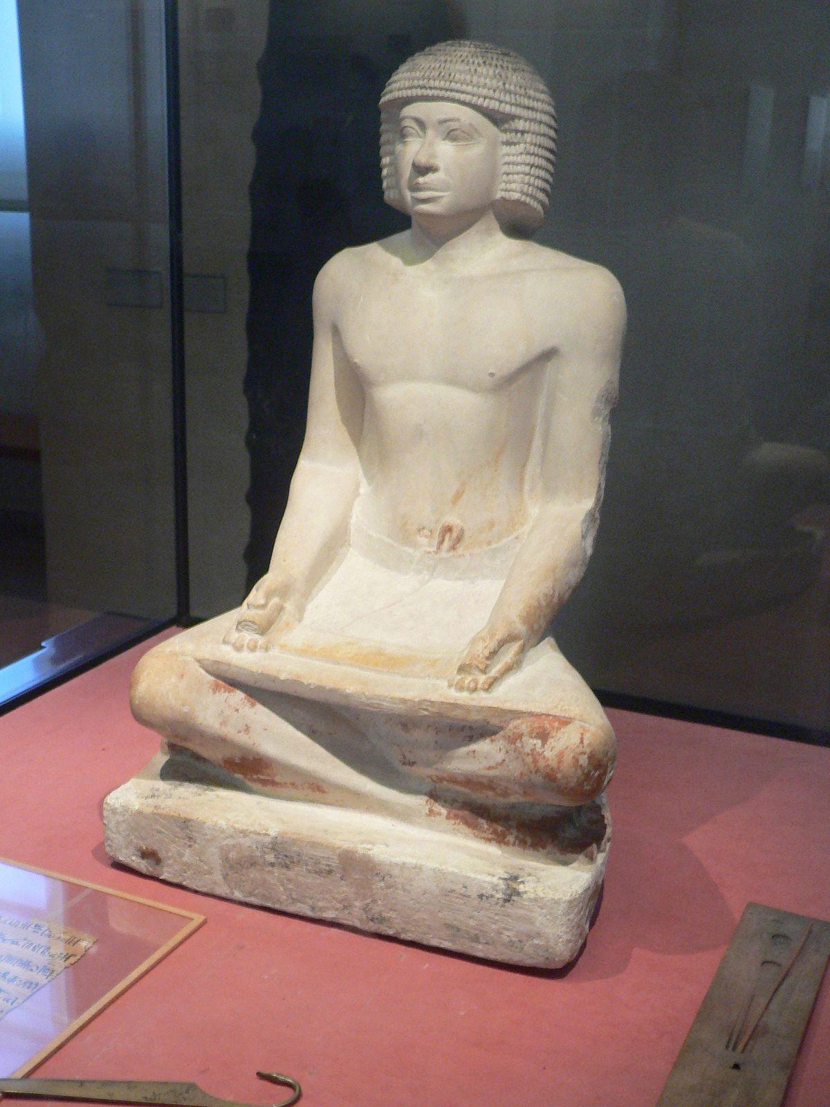 Escribas en el Antiguo Egipto - Wikipedia, la enciclopedia