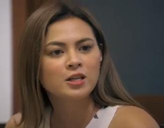 Precious Lara Quigaman - Lara Quigaman while shooting for Love Is…a television-movie presentation of Eat Bulaga!, October 2017