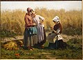 Love Tokens by Jules Breton, after 1855, oil on canvas - Huntington Museum of Art - DSC05305.JPG