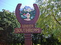 Lower Southrepps Village sign 1st September 2008 (9).JPG