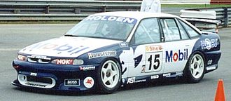 Craig Lowndes - 1996 HRT Commodore