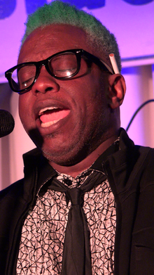 Corey Glover performing with Living Colour in 2016