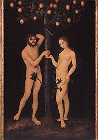 Lucas Cranach d. Ä. - Adam and Eve - WGA05623.jpg