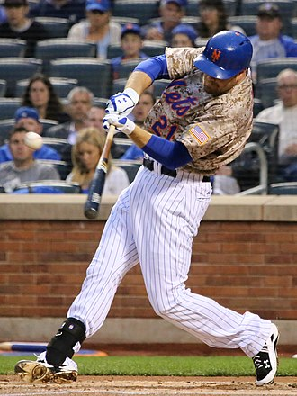 First baseman - Image: Lucas Duda on May 18, 2015