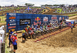 AMA Motocross Championship - Image: Lucas Oil Pro Motocross at High Point Raceway