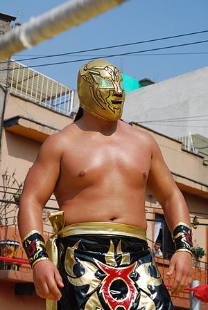 "Gran Guerrero - Working as ""Taurus"" in January 2013"