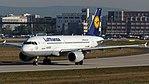 Lufthansa Airbus A319-100 (D-AIBI) at Frankfurt Airport.jpg