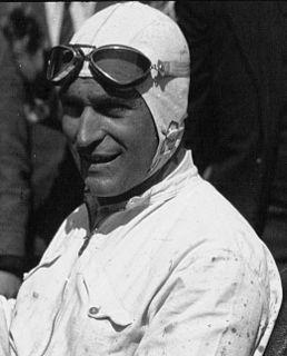 Luigi Fagioli Italian racecar driver