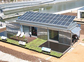 """Virginia Tech College of Architecture and Urban Studies - """"LumenHAUS"""" - Award winning solar powered house designed and constructed by Virginia Tech in 2010."""