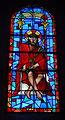 Lunegarde, église Saint-Julien, vitrail du Christ aux yeux bandés.jpg
