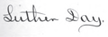 Luther Day signature.png