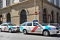Luxembourg, police cars rue Notre-Dame.jpg