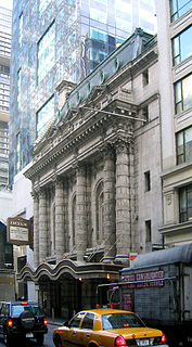 Broadway theater in Midtown Manhattan, New York City, United States