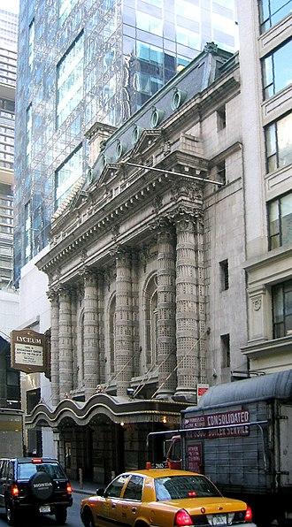 Lyceum Theatre (Broadway) - Lyceum Theatre