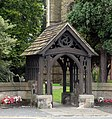 Lych gate, Church of St. George, London Road - geograph.org.uk - 1471575.jpg