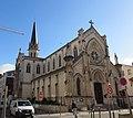 Lyon 6e - Église ND de Bellecombe - Vue depuis rue de la Viabert (janv 2019).jpg