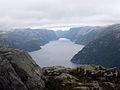 Lysefjord view from Preikestolen.jpg