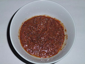 Paste (food) - Shrimp paste from Thanh Hoa province, Vietnam