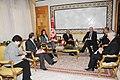 M. Abdallah Triki s'entretient avec M. Riad Maleki, Ministre palestinien des Affaires Etrangères. (6714729491).jpg