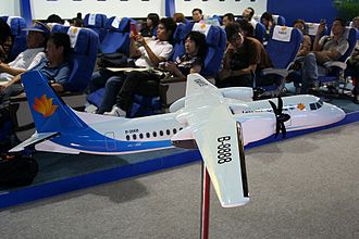 Xian MA60 - Model of a MA60 in Joy Air livery, its largest airline operator