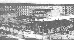 Moscow Aviation Institute - First building of MAI-no.3, 1935.