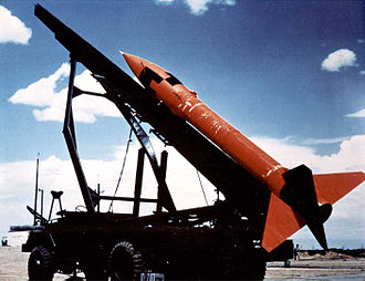 "MGR-1 Honest John - An ""Honest John"" rocket on truck"