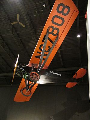Monocoupe Aircraft - A Model 113 on display