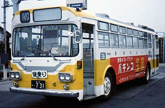 Mitsubishi Fuso Aero Star - Image: MR470 Gumma Chuo Bus