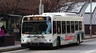 Route 30 (MTA Maryland) - Image: MTA Maryland 9063 30