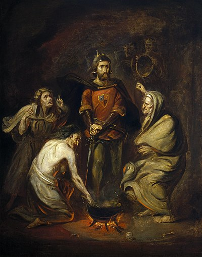 macbeths second encounter with the witches in shakespeares play macbeth In the second encounter they  supernatural: macbeth the witches in  supernatural is also shown to be negative in this play by macbeths.