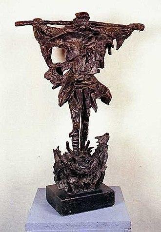 Florina Art Gallery - Image: Macedonian Museums 12 Pinakothiki Florinivtvn 56