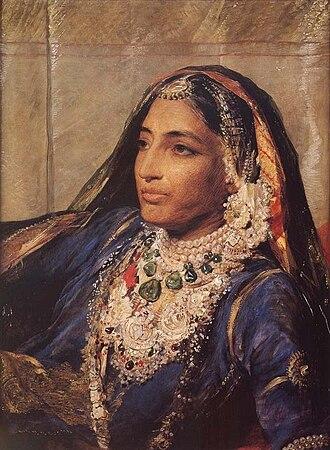 Jind Kaur - Maharani Jind Kaur at 45.