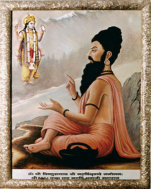 Bhrigu - A painting depicting Bhrigu
