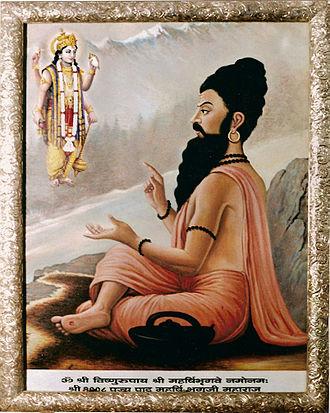 Bhrigu - A painting depicting Bhrigu