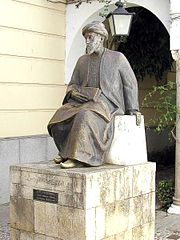 Statue of Maimonides in Córdoba, Spain