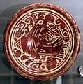 Maiolica ispano-moresca, piatto a lustro, xvii secolo 01.jpg