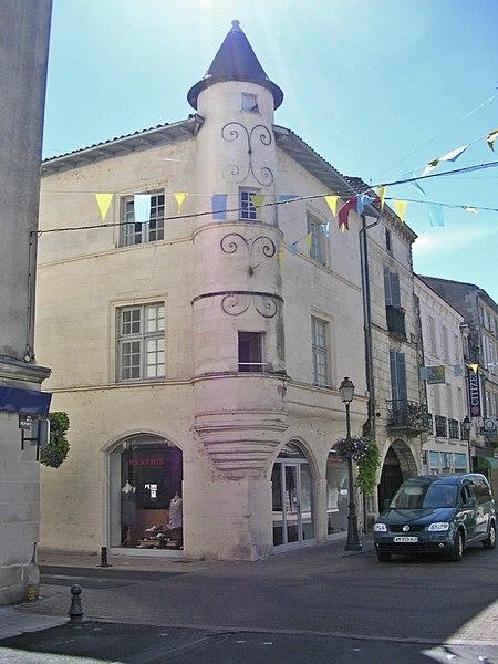 Maison Moyen age-Ste-foy-la-grande