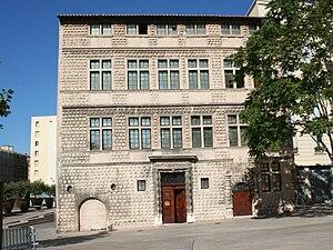 Maison diamantée à Marseille, siège du musée d...