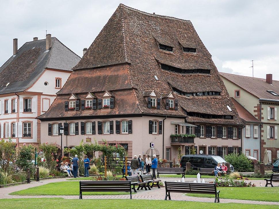 Maison du sel Wissembourg, Bas-Rhin, Alsace