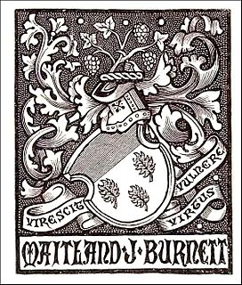 Maitland Burnett British philatelist