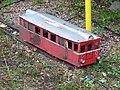 Malá Skála, model motorového vozu.jpg