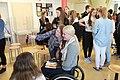 Mallory Weggemann visits the Regine Hildebrandt Schule in Birkenwerder IMG 0343 (17223427745).jpg