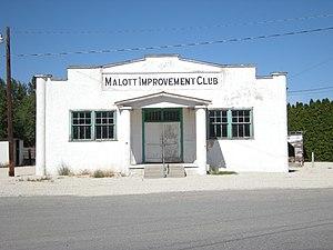 Malott, Washington - The Malott Improvement Club, Malott, Washington