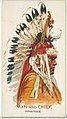 Man and Chief, Pawnee, from the American Indian Chiefs series (N2) for Allen & Ginter Cigarettes Brands MET DP828013.jpg
