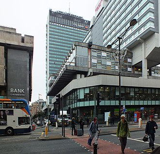 City Tower, Manchester - View of part of the Piccadilly Plaza, including City Tower