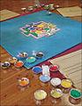 Mandala en cours de réalisation (Parc oriental de Maulévrier) (7300506930).jpg