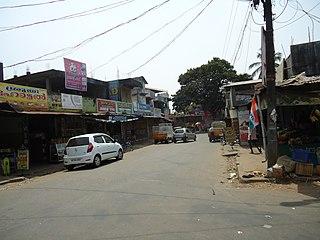 Manjapra Village in Kerala, India