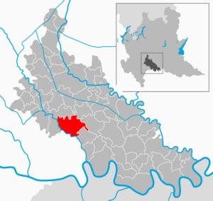 Borghetto Lodigiano - Image: Map IT Lodi Borghetto Lodigiano