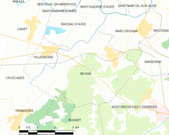Map commune FR insee code 11264.png